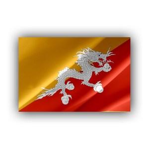 Bhutan - flag