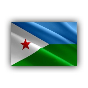 Djibouti - flag