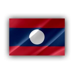 Laos - flag