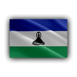 Lesotho . flag