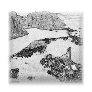 Lofoten - drawing