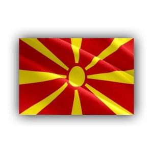North Macedonia - flag