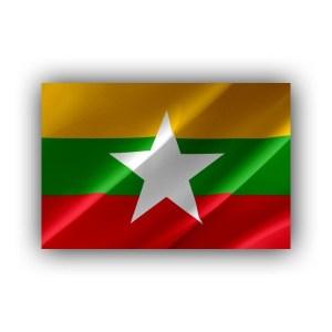 Myanmar Burma - flag