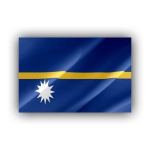 Nauru - flag