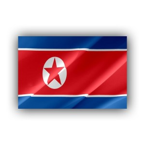 North Korea - flag