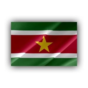 Suriname - flag