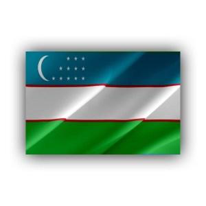 Uzbekistan - flag