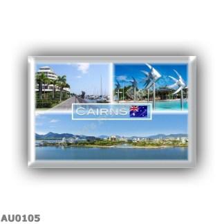 AU0105 Oceania - Australia - Queensland - Cairns - The Pier - Esplanade Lagoon Fish - Landscape