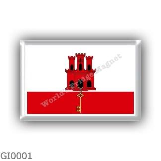 GI0001 - Europe - Gibraltar - flag