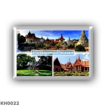 KH0022 Asia - Cambodia - Phnom Penh - Silver Pagoda - Royal Palace - Wat Phnom - National Museum