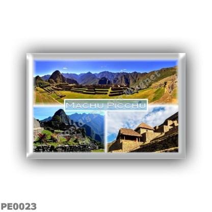 PE0023 America - Peru - Machu Picchu - Panorama - Aerial View