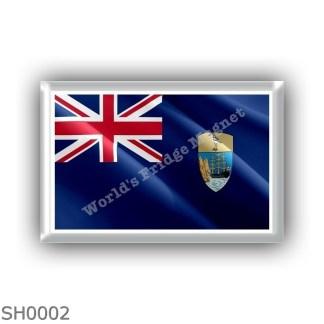SH0001 Africa - Saint Helena - flag