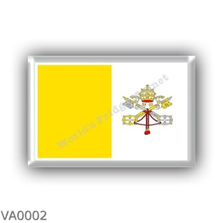 VA0002 - Europe - Vatican City - flag
