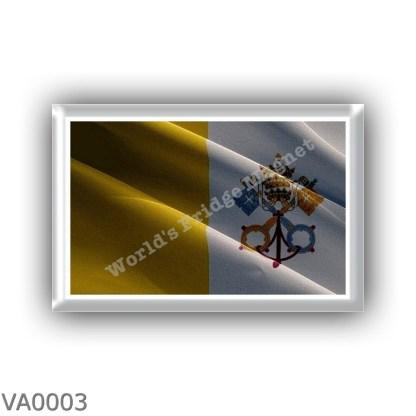 VA0003 - Europe - Vatican City - flag - waving