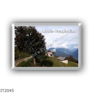 IT2045 europe - Italy - Trentino Alto Adige - Monte Cengledino 2125 mt - Malga Cengledino - Panorama