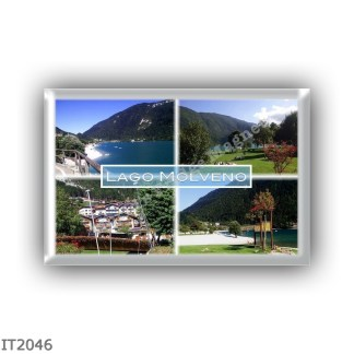 IT2046 Europe - Italy - Trentino Alto Adige Sudtirol Südtirol - Molveno - lake - Panorama