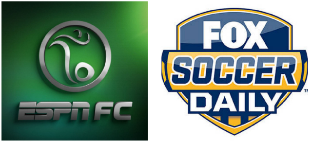 The Battle Of The Daily Soccer Us Tv Shows Espn Fc Vs Fox