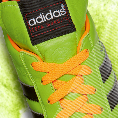 Samba Copa Mundial detail green b adidas Release Limited Edition Copa Mundial Soccer Cleats [PHOTOS]