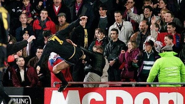 In the national football league (nfl), each team has 53 players on its roster. Man United S Eric Cantona Kung Fu Kicks A Fan This Week In Football History World Soccer Talk