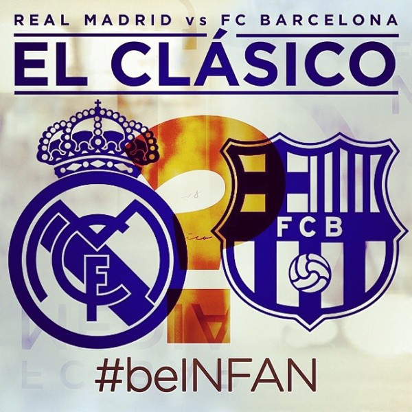 el clasico 600x600 Real Madrid vs Barcelona: How to Watch el Clasico Online