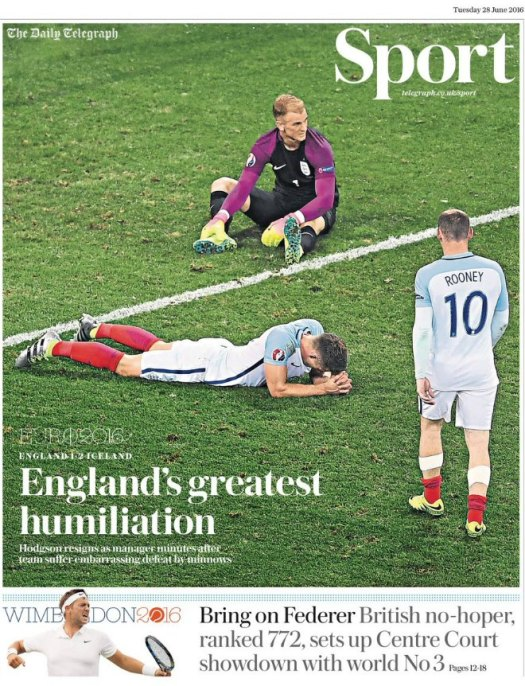 england-iceland-telegraph-front-cover