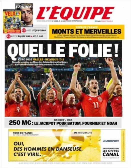 L Equipe What Madness