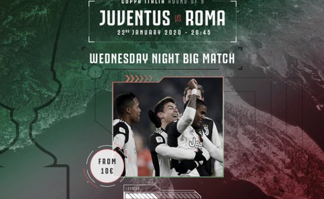 Where To Find Juventus Vs Roma On Us Tv And Streaming