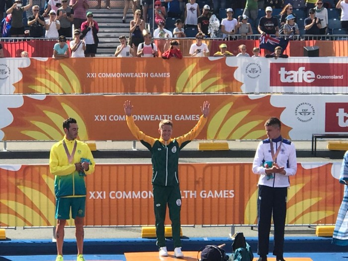 World Sport Coach COmmonwealth Games Henri Schoeman