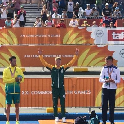 World Sport Coach COmmonwealth Games Henri Schoeman