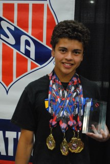 2014 Joel Ferrell Award the AAU Junior Olympic Games