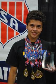 2014 Joel Ferrell Award the AAU Junior Olympic Games
