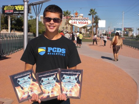 Best Athlete 2014 AAU World Indoor Feats of Strength Championships -- Las Vegas