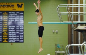 Diving training, Iowa, 2013