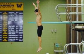 Diving training, Iowa, 2013
