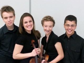 Dowling Catholic High School Strings Quartet -- summer 2013