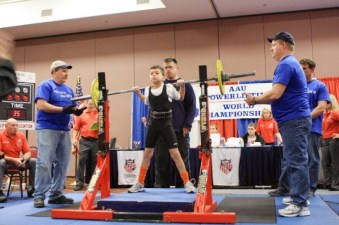 First world powerlifting championship -- 2009 in Myrtle Beach, South Carolina