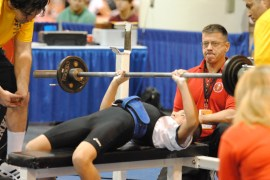 Junior Olympic Games world record -- 2011