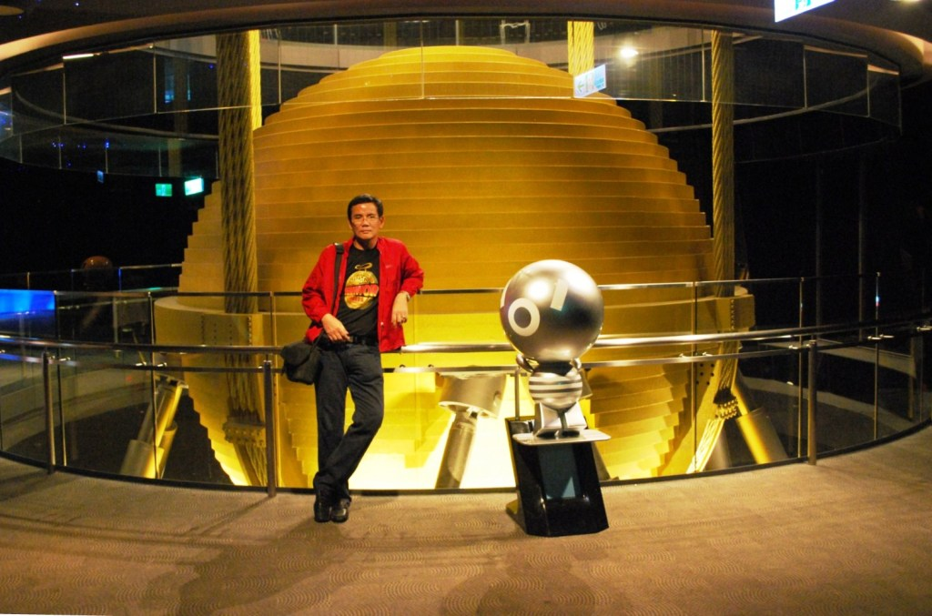 Taipei 101 Tuned Mass Damper (Taiwan) – B.L.A.S.T. – Live Life to the Fullest ……… Don't Stay Put
