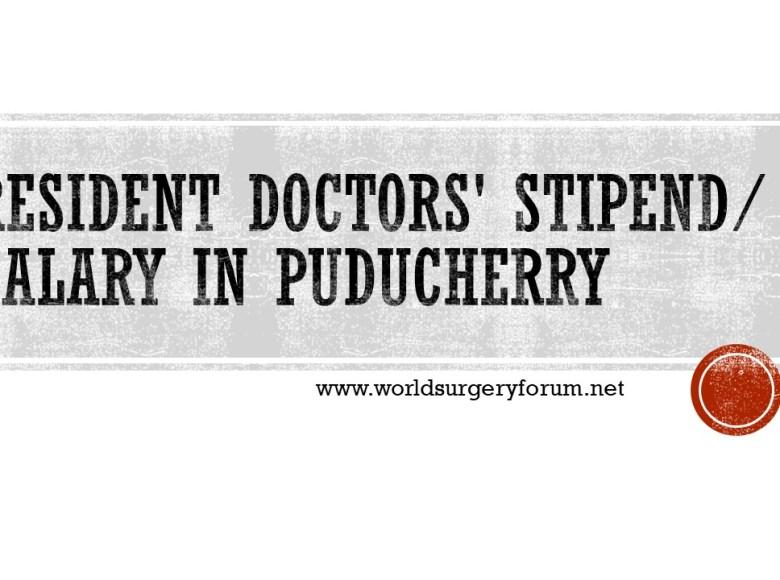 DOCTOR SALARY Pondicherry