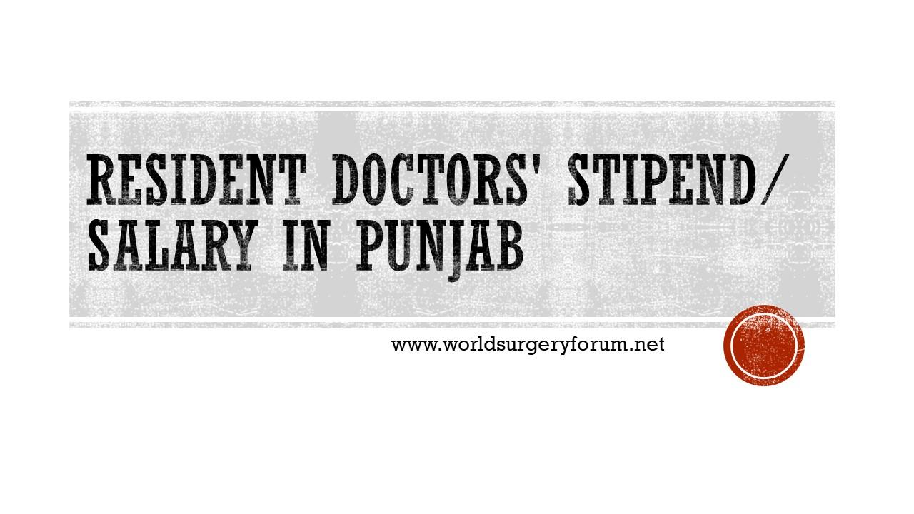 DOCTOR SALARY Punjab