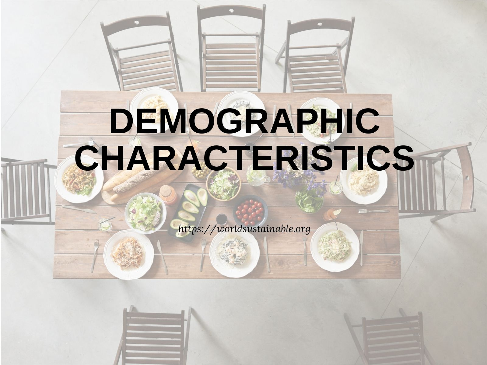 the-demographic-characteristics
