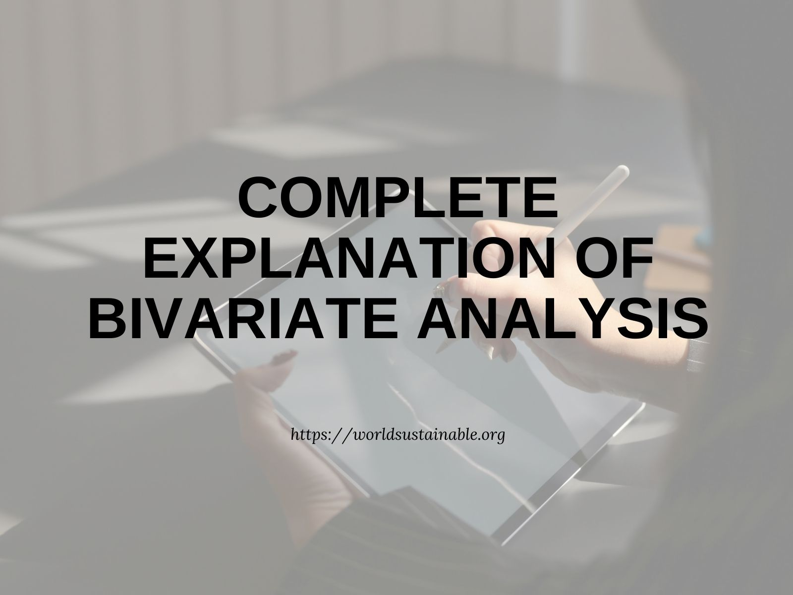 what-is-bivariate-analysis