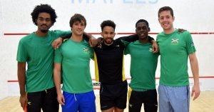 Jamaica's first MWT team