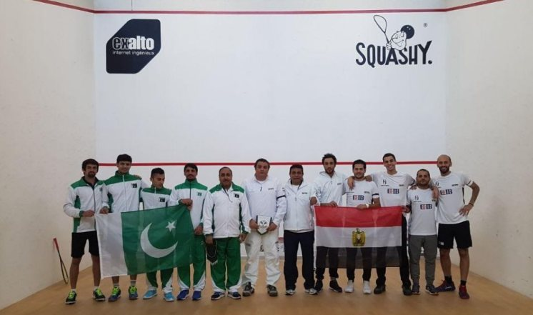 Pakistan and Egypt - 9 MWT titles between them !