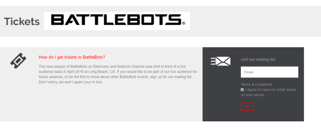 BattleBots - BattleBots 2018 Tickets
