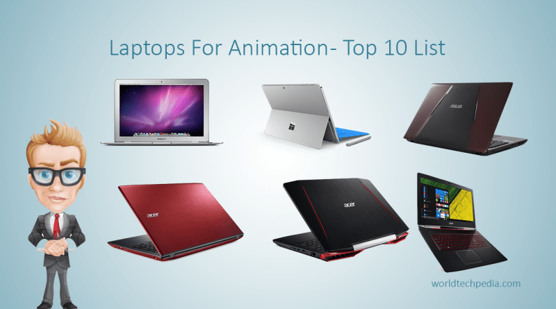 Laptops For Animation