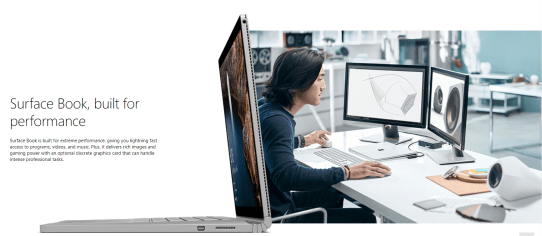 Microsoft Surface Book - Best laptops for Photoshop