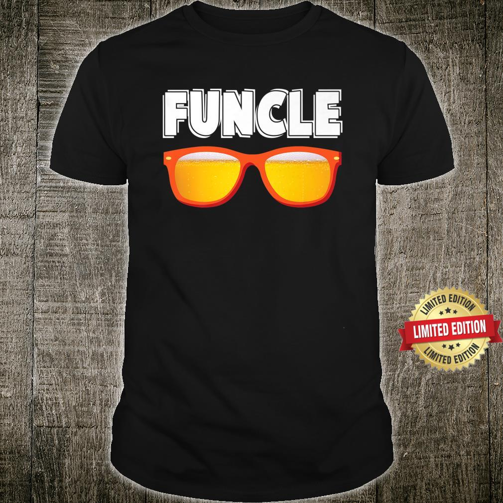 Uncle Funcle Cool Fun Tio Relative Beer Glasses Shirt