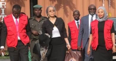 EFCC Re-arraigns Dismissed Judge, Ofili-Ajumogobia