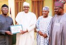 Fayemi Meets Buhari At Presidential Villa, Denies Vote Buying